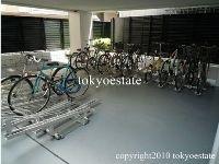 mastermind JUBAN 自転車置き場