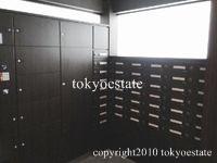 乃木坂パークハウス 宅配ボックス/郵便受け