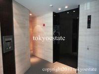 乃木坂パークハウス エレベーター