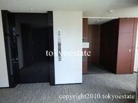 乃木坂パークハウス 1階エレベーターホール