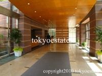 青山パークタワー エントランスホール